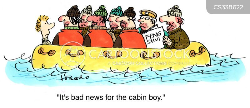 cabin boys cartoon