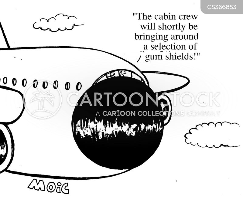 air accidents cartoon