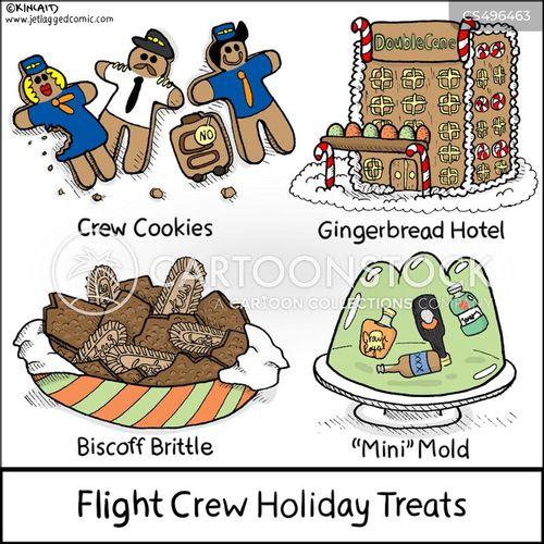 crew life cartoon