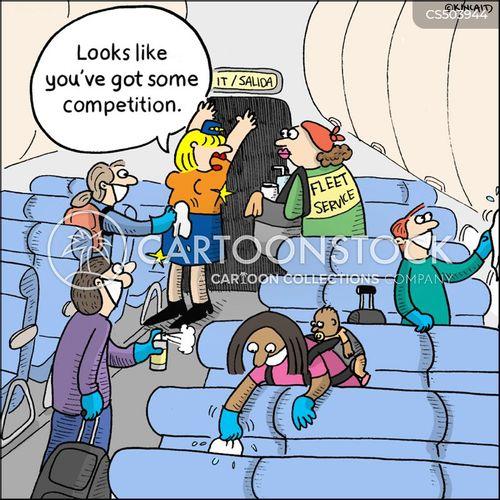 flight crews cartoon