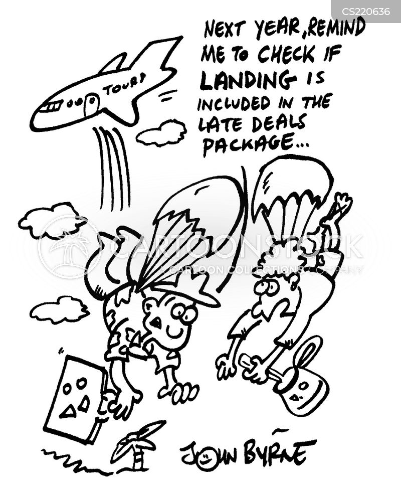 package deals cartoon