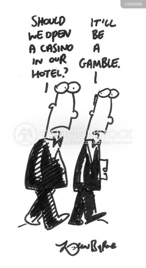 hospitality industry cartoon