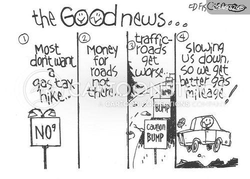 gas tax cartoon