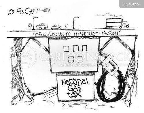 infrastructure problems cartoon