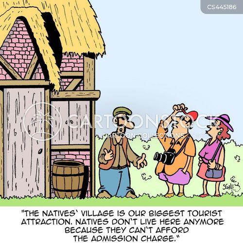 gentrify cartoon
