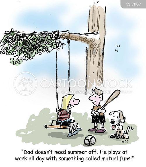 mutual funds cartoon
