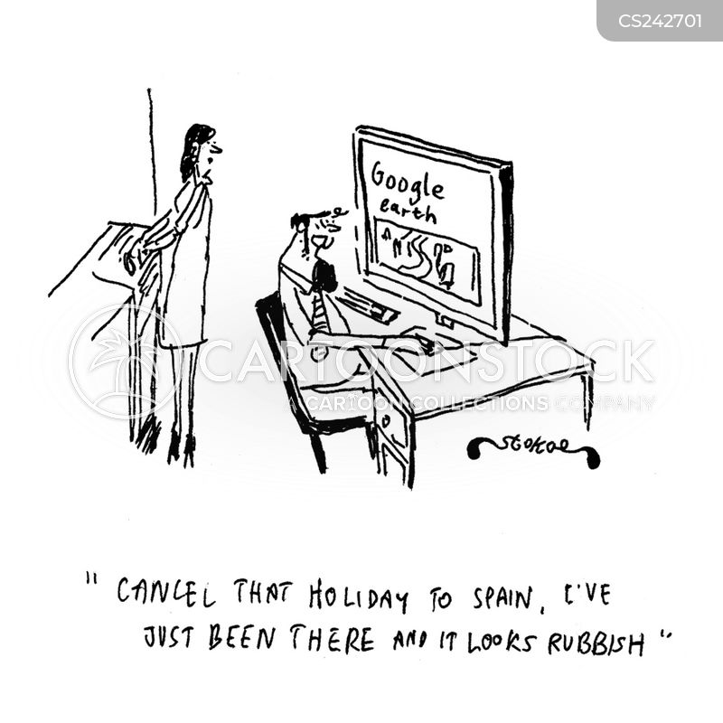 virtual holiday cartoon