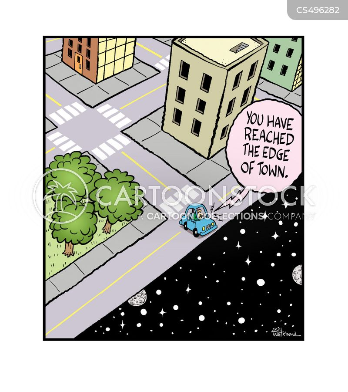 flat earth theory cartoon