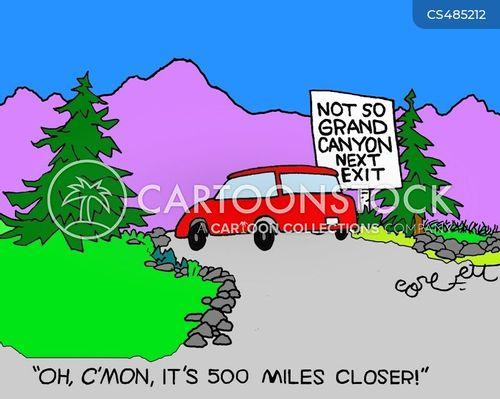 sceneries cartoon