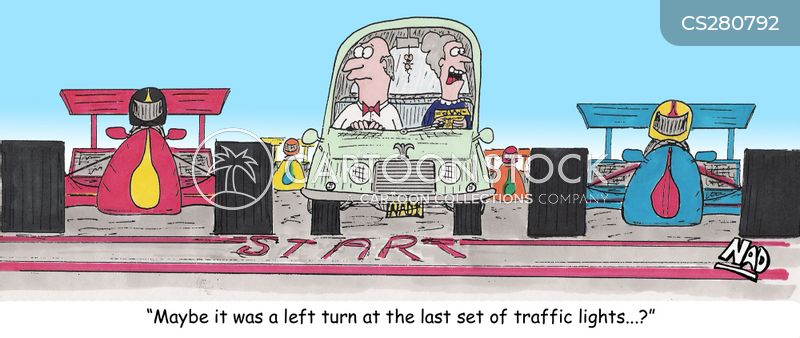 wrong turns cartoon