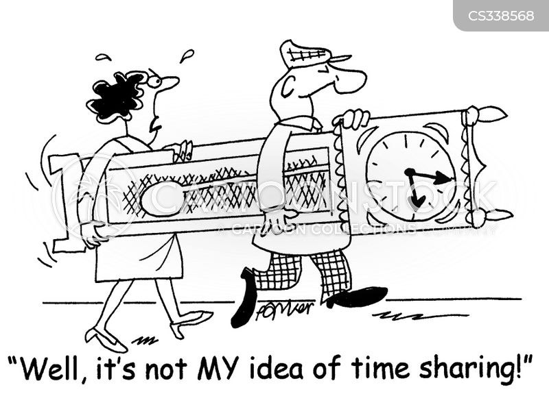 grandfather clocks cartoon