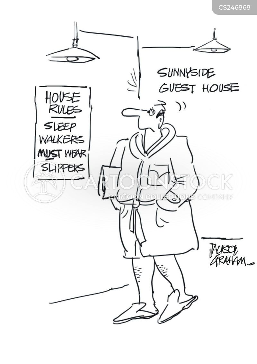 guest house cartoon