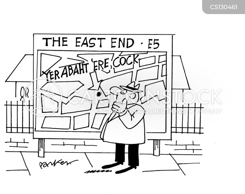 londoner cartoon