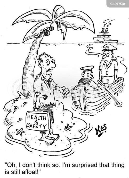afloat cartoon