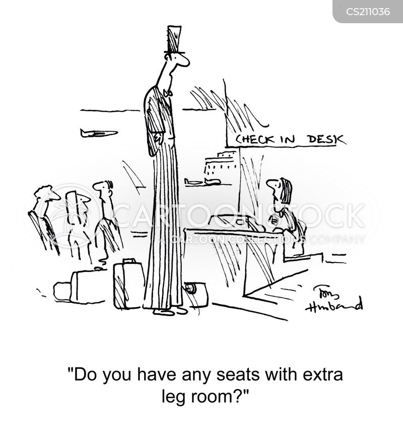 leg room cartoon