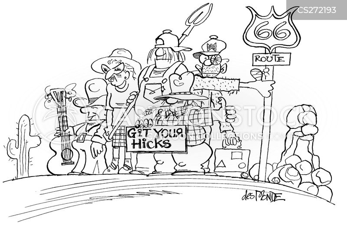 hicks cartoon