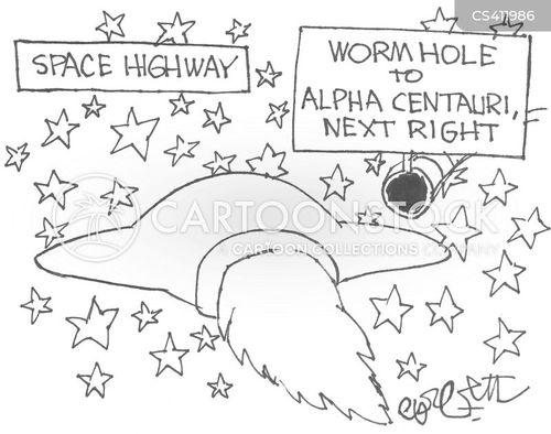 wormholes cartoon