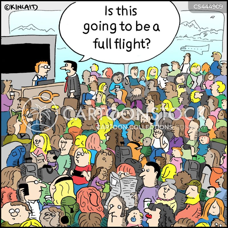 holiday travel cartoon