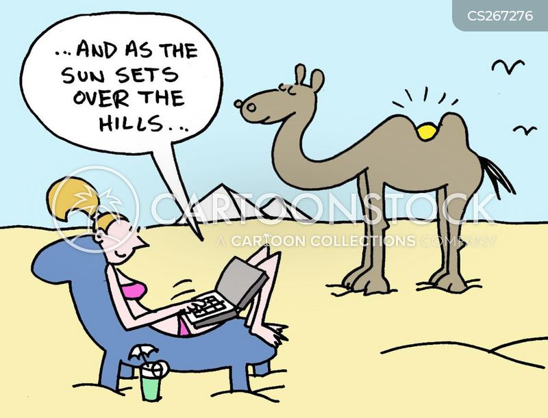 camel hump cartoon