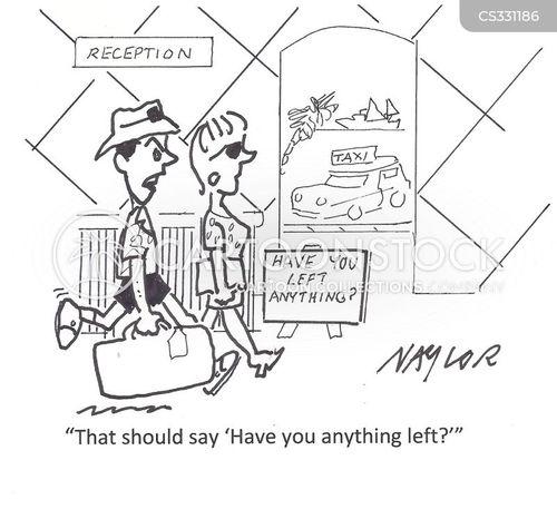 personal possessions cartoon