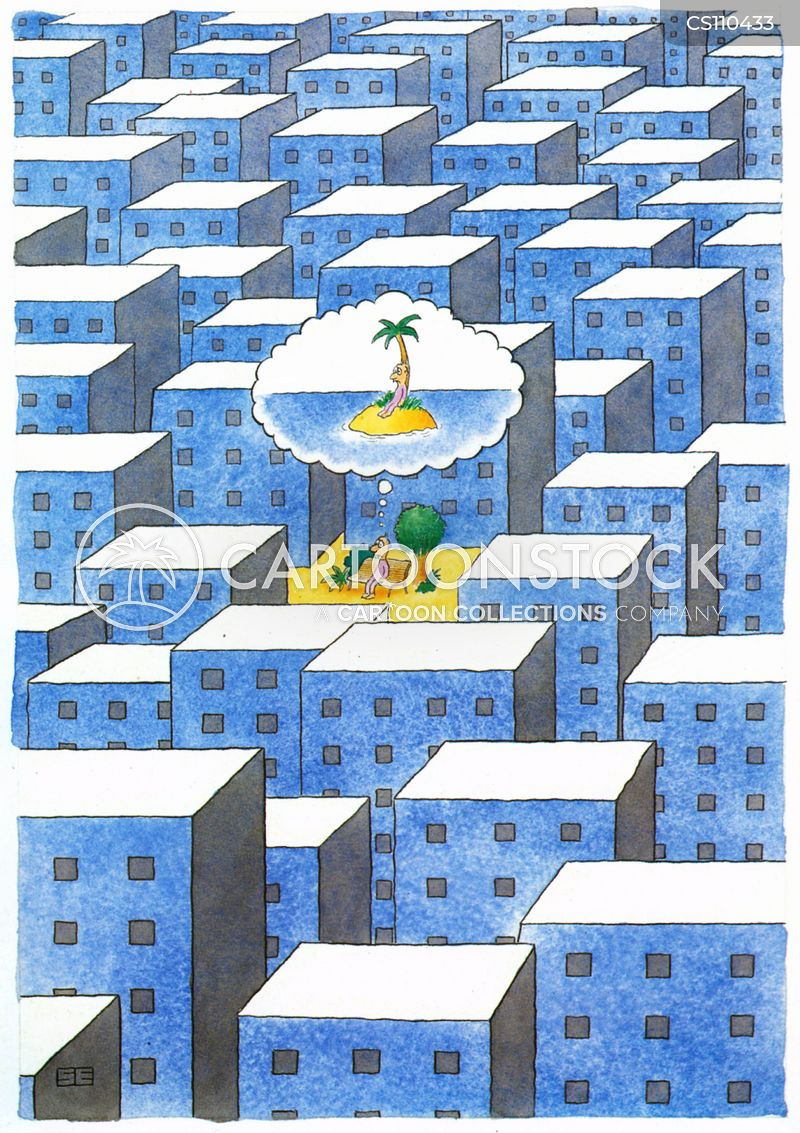 tropical islands cartoon