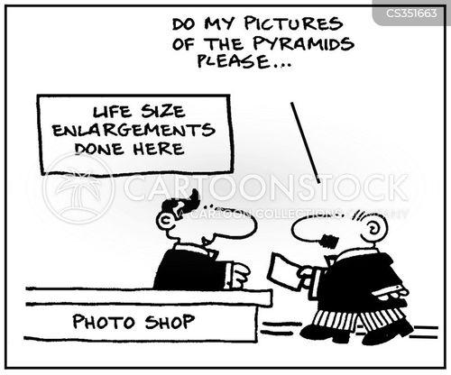 enlargement cartoon