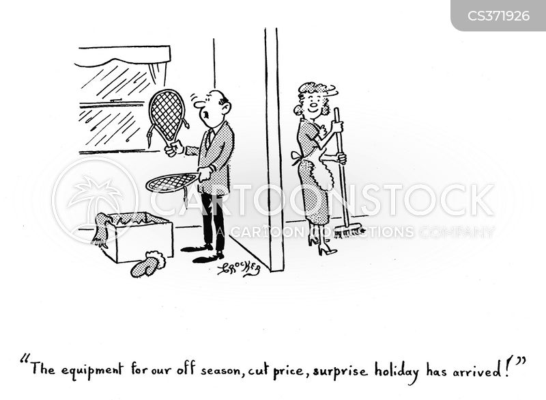 out of season cartoon