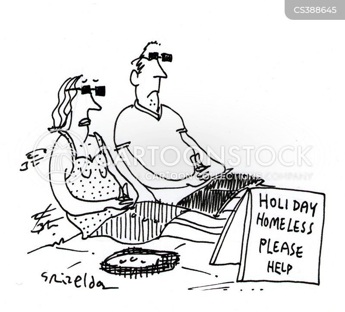 holiday homes cartoon