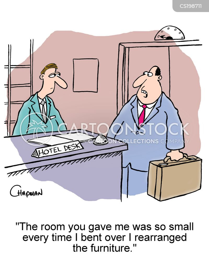 accommodations cartoon