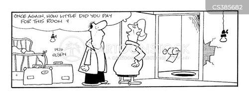 false economy cartoon