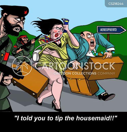 housemaid cartoon
