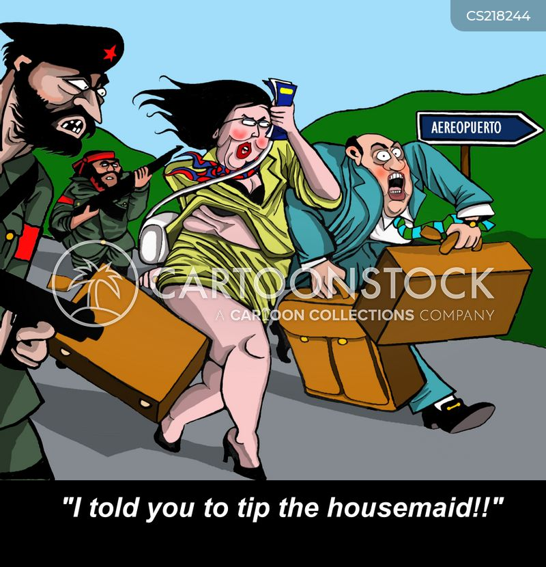housemaids cartoon
