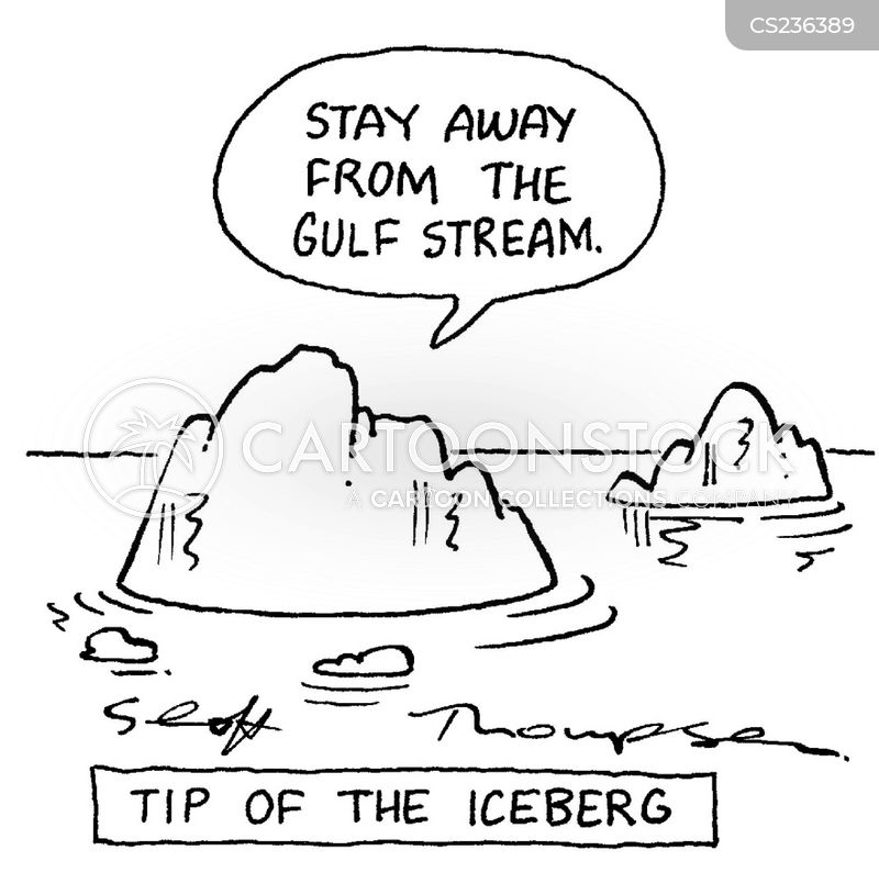 iceburgs cartoon