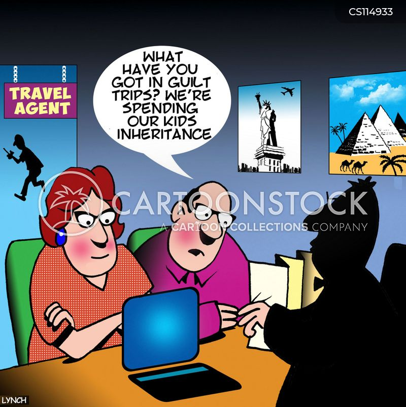 family inheritance cartoon