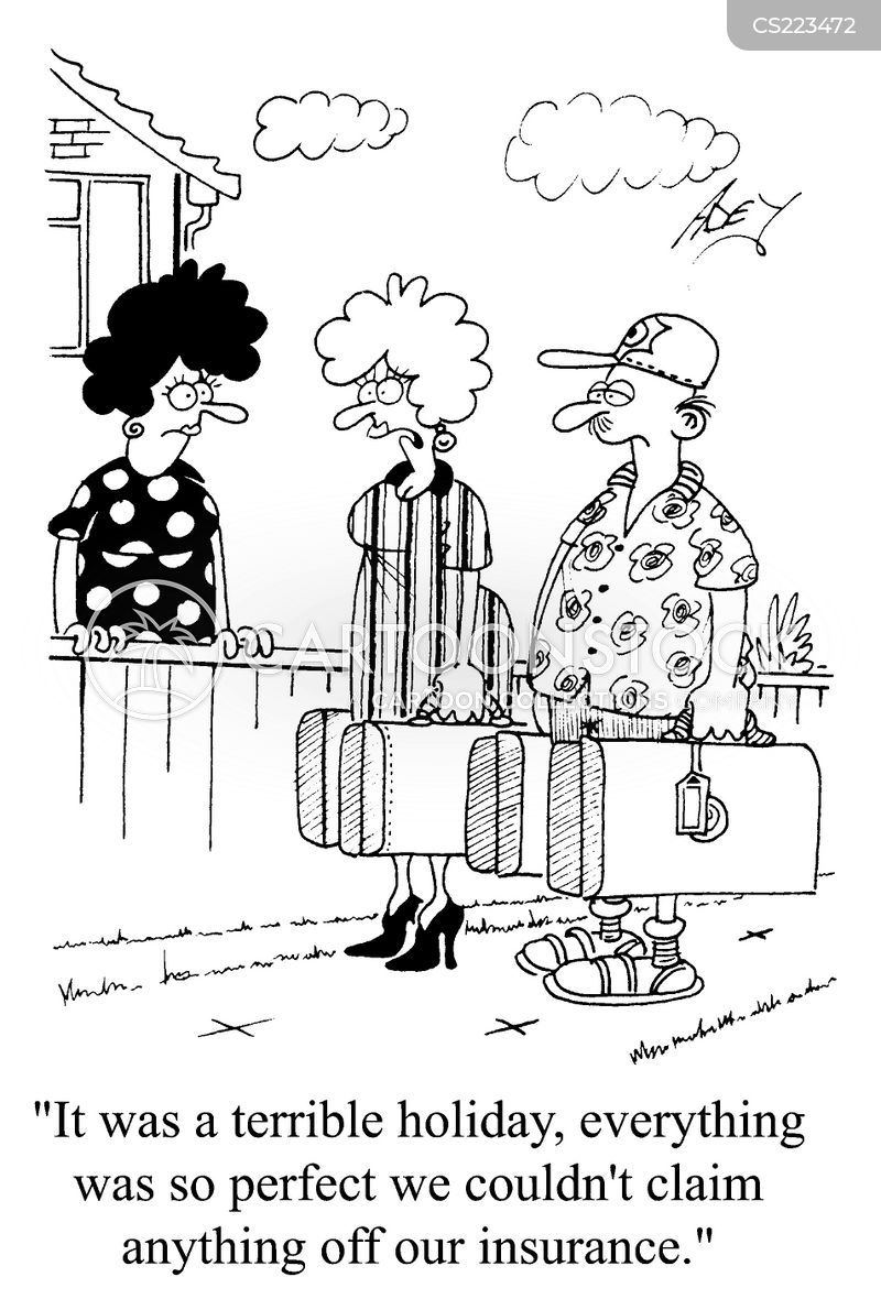 package holiday cartoon
