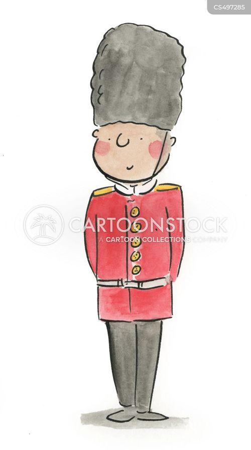 royal guards cartoon