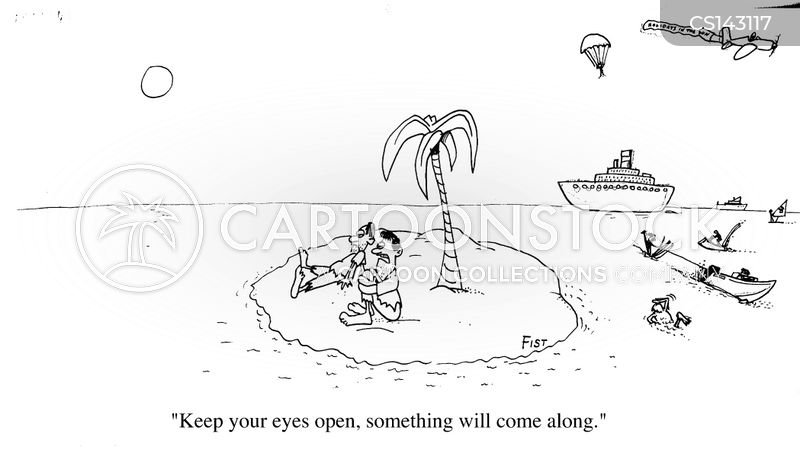 holiday resort cartoon