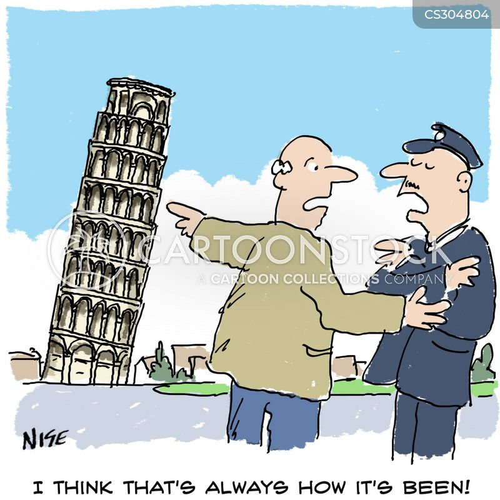 historic building cartoon