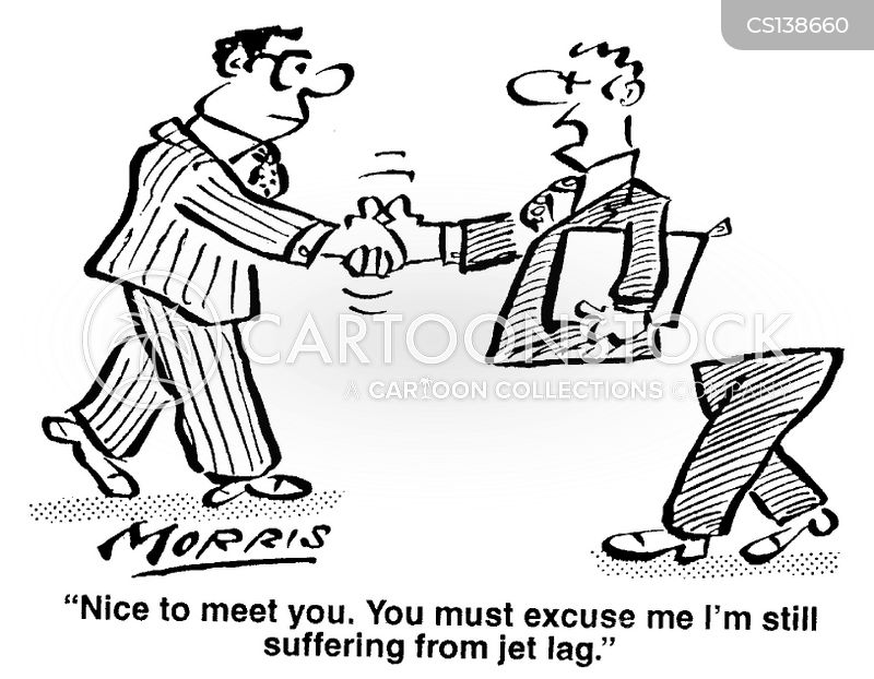 time differences cartoon