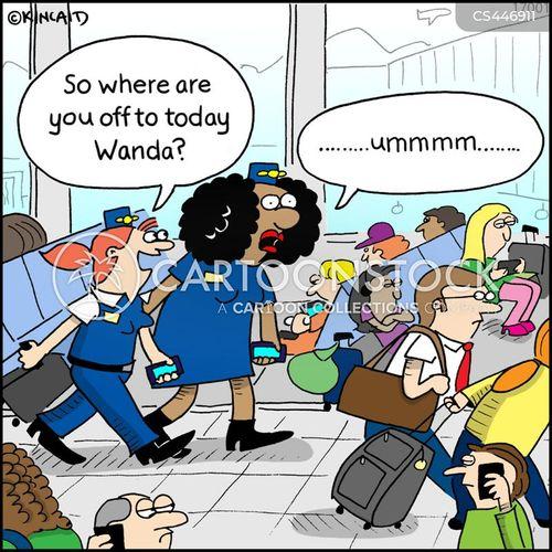 air hosts cartoon