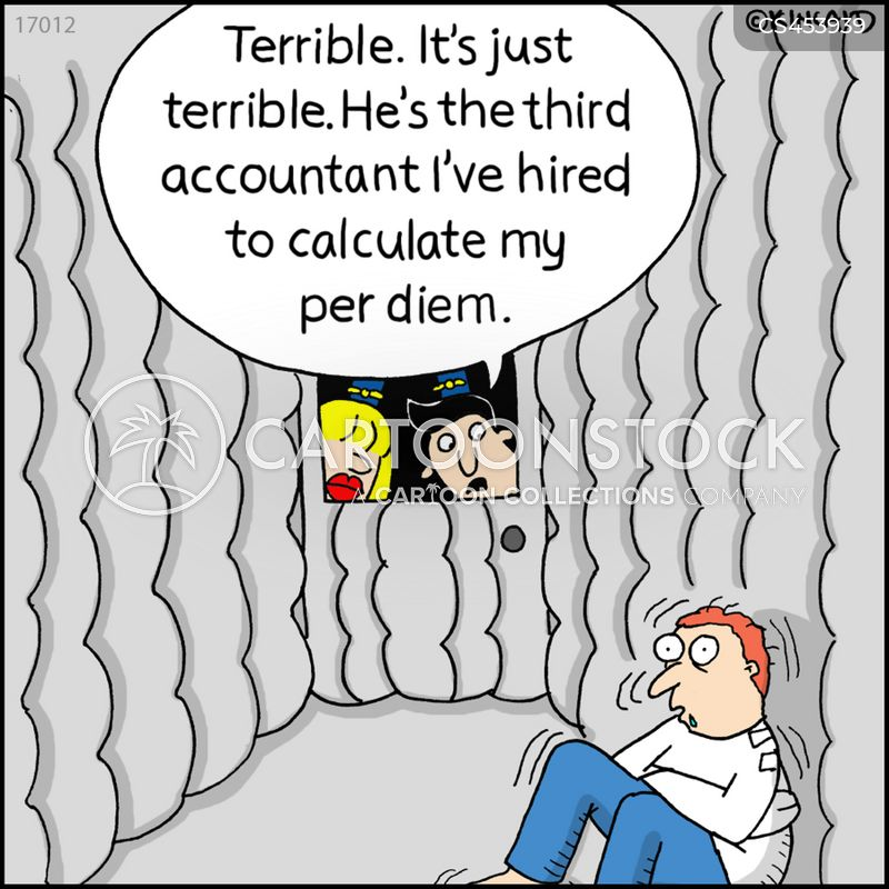 expenses accounts cartoon