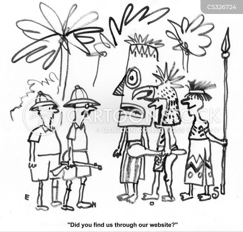 Primitive People Cartoons And Comics Funny Pictures From Cartoonstock