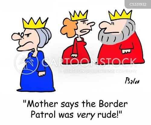 foreign dignities cartoon