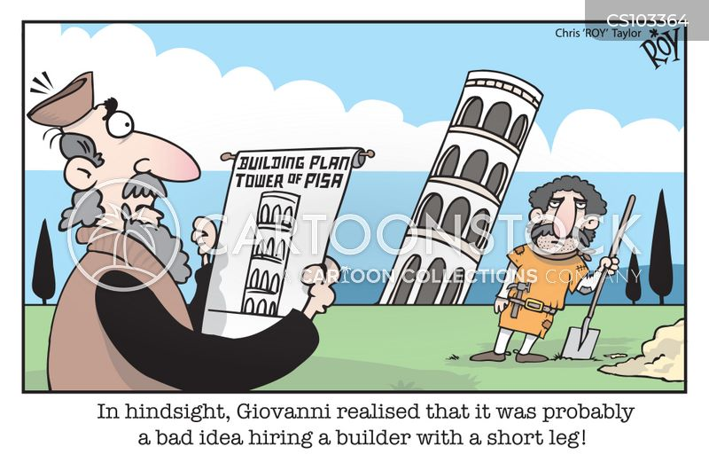 building work cartoon