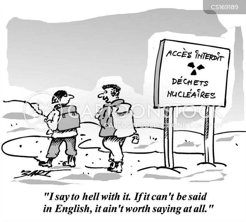 linguist cartoon