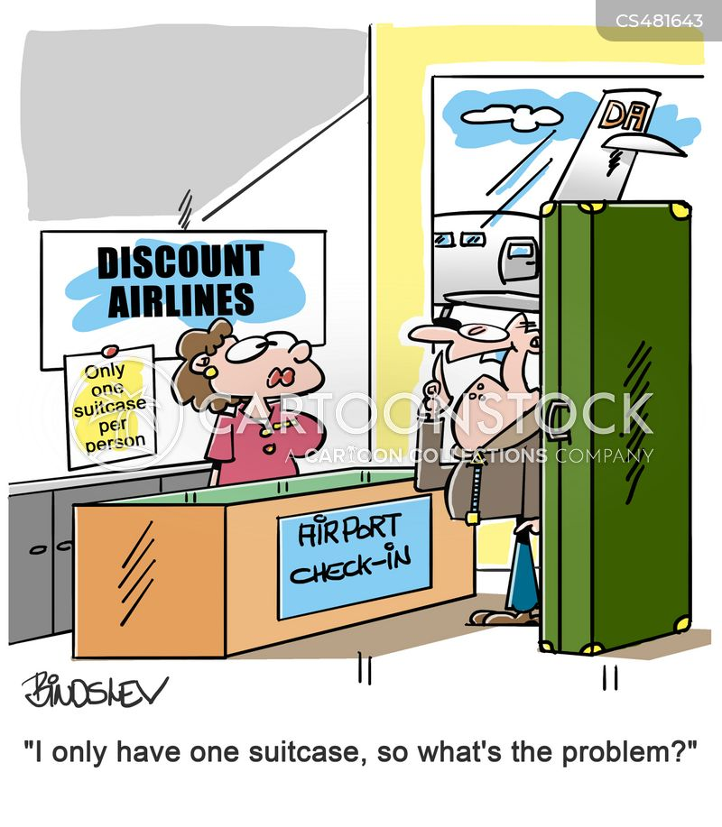 Baggage Restriction cartoons, Baggage Restriction cartoon, funny, Baggage Restriction picture, Baggage Restriction pictures, Baggage Restriction image, Baggage Restriction images, Baggage Restriction illustration, Baggage Restriction illustrations