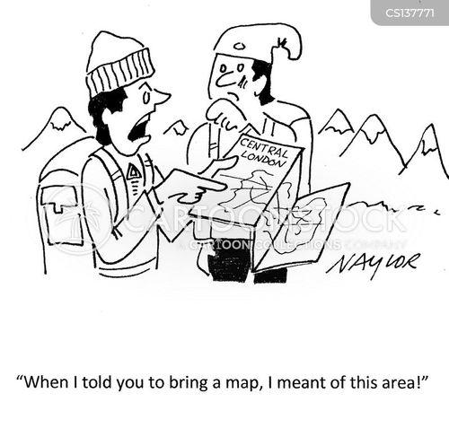 sense-of-direction cartoon