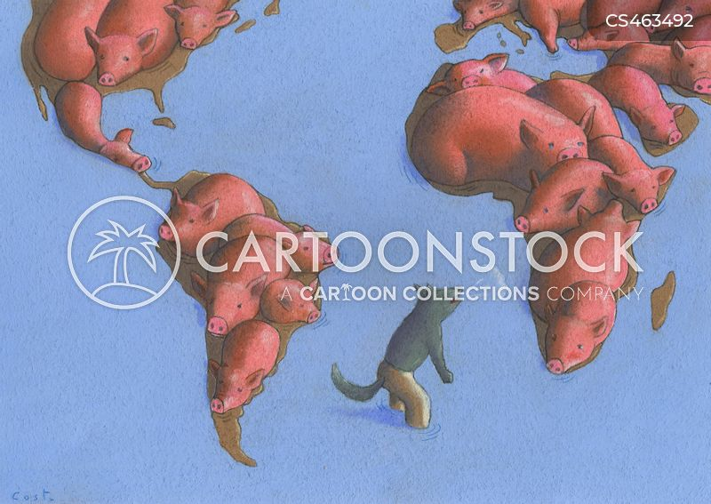 World Maps Cartoons and Comics - funny pictures from CartoonStock