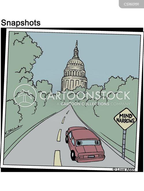 narrowing cartoon