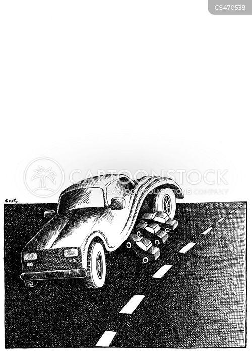 auto vehicles cartoon